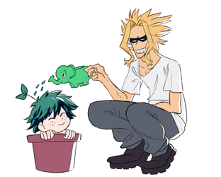 Keepin Your Deku Happy and Healthy by braidcut