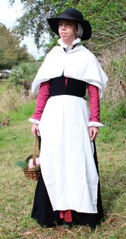 Nonesuch Market Woman Front View by CenturiesSewing
