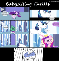 Babysitting Thrills 6/7 by StunningSwan