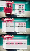Theme Dream Pink  K1000a09 by k1000adesign