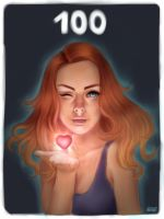 100 by LillyTalent