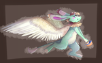 Commission - Full Body + Shade by TabbyFeather