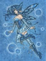 Water Fairy by delphineart
