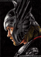 Thor God of Thunder by Butterfly-Hime