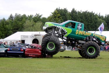 Monster Truck 04 - Swamp Thing by gopherboy76