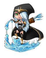 League of Legends Ashe by 7guineapig7