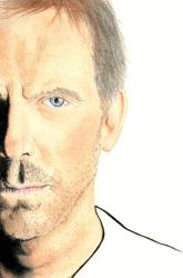 Hugh Laurie by Almerious