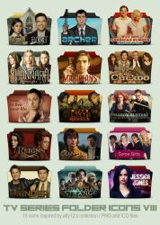 TV Series Folder Icons VIII by call-me-special