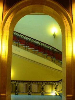 To the stairs by BuShRa-BuTtErFlY