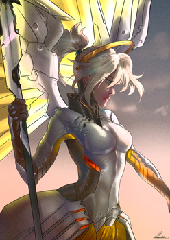 Mercy - Birthday gift by MrsCurlyStyles