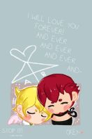I will love you forever and ever and ever and ever by J-J-Joker