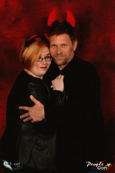 Me and Mark Pellegrino by DannyPling