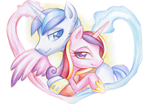 Love is strong. Very strong. by Z-N-K