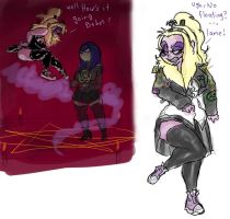 SOME BETTYJUICE DOODLES by Candys-Killer