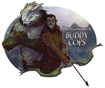 Commission: Buddy Cops by GalooGameLady