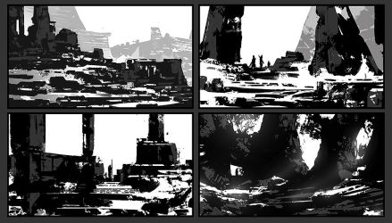 LandscapeShapeStudy Day 29_02 by ourlak