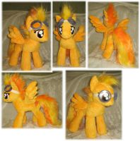 Spitfire plushie by Rens-twin