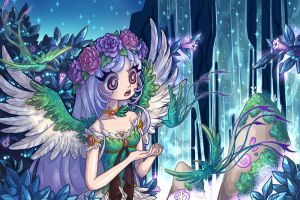Halfbody Commission 05 - Ladymidnightsolace by Lady-Bullfinch