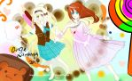 Candy Girl My OC (Ali) and CubieKelly OC(Hikari) by angiewaiwai