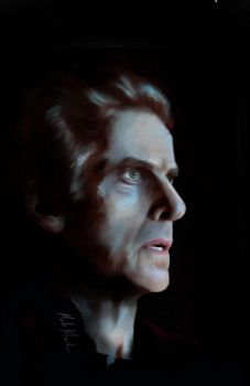 12th Doctor (Peter Capaldi) by NancyExplosion