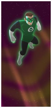 the green lantern by jimmymcwicked