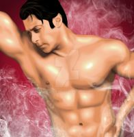 Indian Hunk Salman by yasserian
