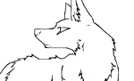 Semi-Realistic Wolf... best one ever!! by Sharpie1023