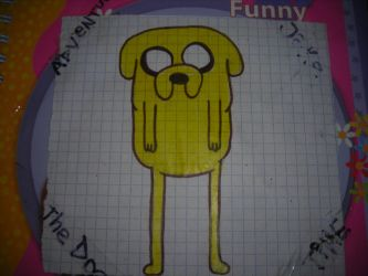 Adventure Time : Jake The Dog by N00dleChan