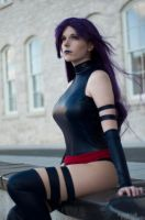 Wind in the Hair : Marvel : Psylocke by Lossien