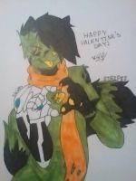 Happy Valentines day by StripesDragonBorn