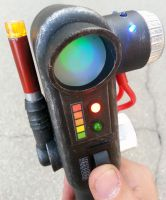 Custom Ghostbusters PKE Meter cosplay prop by firebladecomics