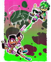 Squid Kids by MrKenen