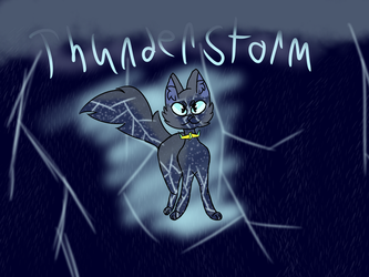 Thunderstorm! by TheColorlessCat