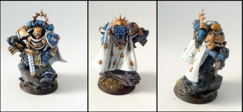 Ultramarines Captain 1st Company by roganzar