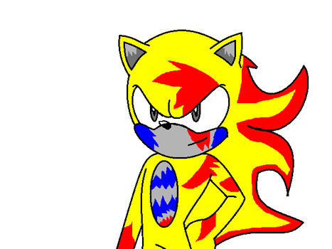 New look : Eletrick the hedgehog by Kinathecat