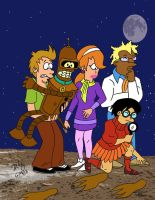 Scooby Doo Futurama by pythonorbit