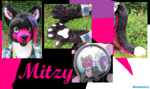 ~Shuntorizzy Studio~ Mitzy (commission) by shuntorizzy