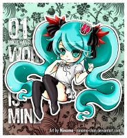Chibi Miku - World is Mine by Ninamo-chan