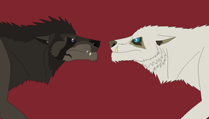 Bjorn vs. Mooneye by EliteRaptor2015