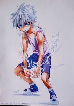 Zoldyck Killua by Ashreille-chan