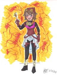 Fire Mage Karin AE by Bella-Who-1