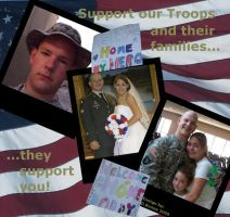 Support our Troops by MysticrainbowStock