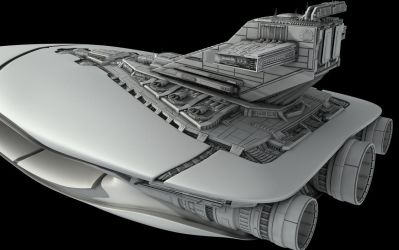The Leviathan Superstructure 2 by Syklon