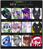 2016 Art Summary by Luckoon