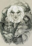 Sakha myths by DalfaArt