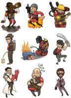 Team Fortress 2 by SarahLynnReynolds