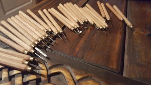 Wax carving and sculpting tools by Zrognak