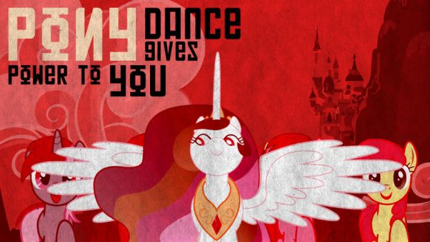 Russian Dancing Ponies Wallpaper 1 by DabuXian