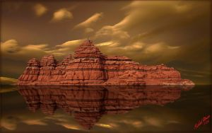 Desert Reflection by MichaelAtman