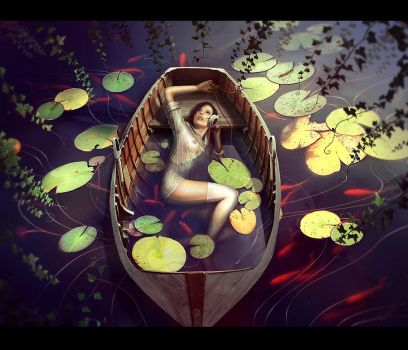 Boat by Katie-Watersell